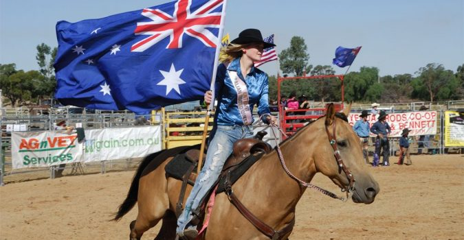 West Wyalong, Rodeos and Team Yarding